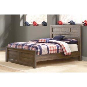 Ashley Furniture Juararo - Dark Brown 3 Piece Bed Set (Full)