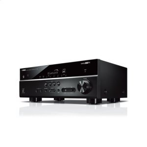 YamahaRX-V485 Black 5.1-Channel AV Receiver with MusicCast