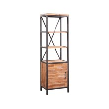 Rustic Etagere in Sierra Brown