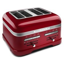Pro Line® Series 4-Slice Automatic Toaster Candy Apple Red