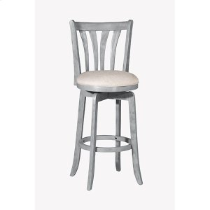 Hillsdale FurnitureSavana Swivel Bar Stool - Blue Wire Brush