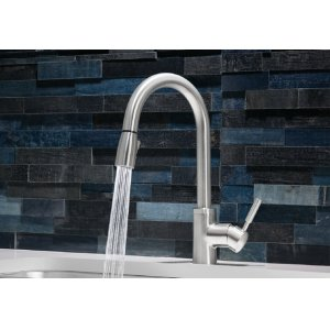 Blanco Sonoma With Pull-down Spray - Polished Chrome