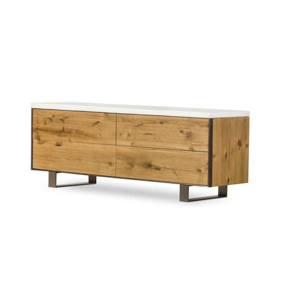 Cole 4 Drawer Dresser-natural