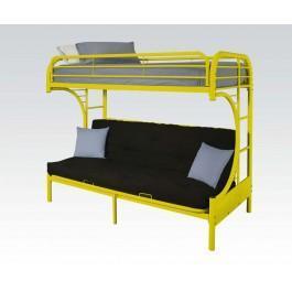Yellow T/f Futon Bunkbed