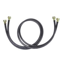 Washer Hose - 5' Black EPDM (2 Pack)