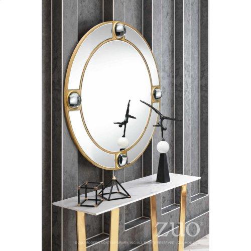 Round Lucite Mirror Mirror And Lucite