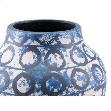 Ree Sm Vase Blue & White