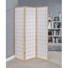 Transitional Natural Folding Screen