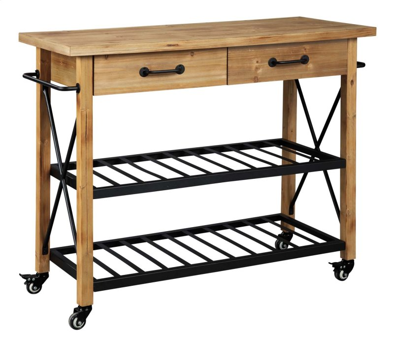 D300066 In By Ashley Furniture In Bonneterre Mo Kitchen Cart