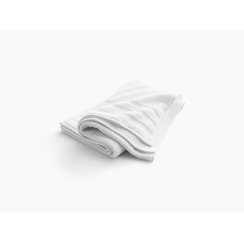 "Truffle Bath Towel With Terry Weave, 30"" X 58"""