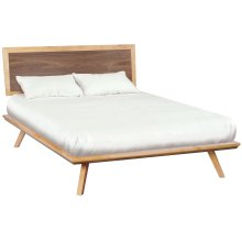DUET Addsion Queen Adjustable Headboard Platform Bed