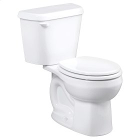 Colony Round Front - Toilet To Go - White