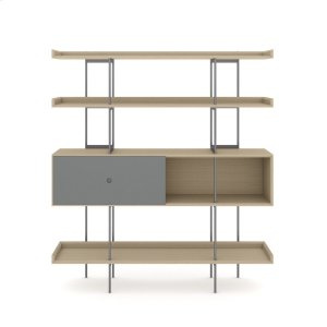 Bdi Furniture5201 Shelf in Drift Oak Fog Grey