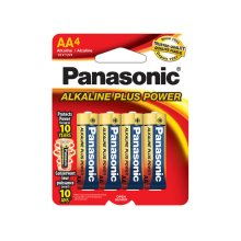 Alkaline Plus Power AA 4-Pack