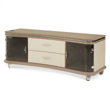 Upholstered Entertainment Console