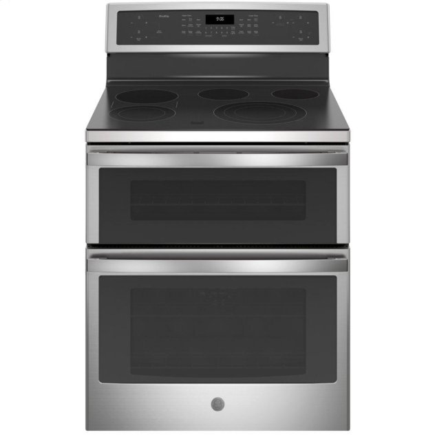 """GE Profile 30"""" Free-Standing Electric Double Oven Convection Range"""