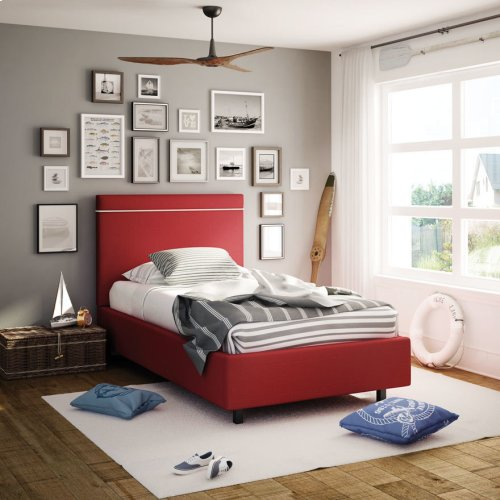 Breeze Upholstered Bed - Twin