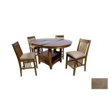 """Wood/Oak Veneer Pub Table - 36"""" H"""