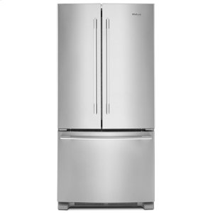 33-inch Wide French Door Refrigerator - 22 cu. ft. - FINGERPRINT RESISTANT STAINLESS STEEL