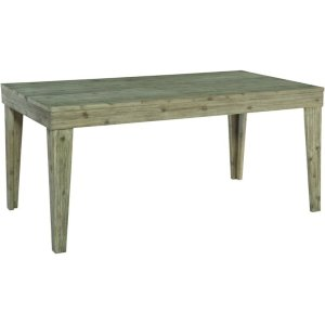 JOHN THOMAS FURNITURE36X66 ASPEN DINING TABLE IN GRAY WASH
