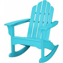 All-Weather Adirondack Rocking Chair in Aruba