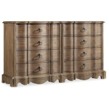 Bedroom Corsica Eight Drawer Dresser