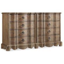 Bedroom Corsica Eight Drawer Dresser