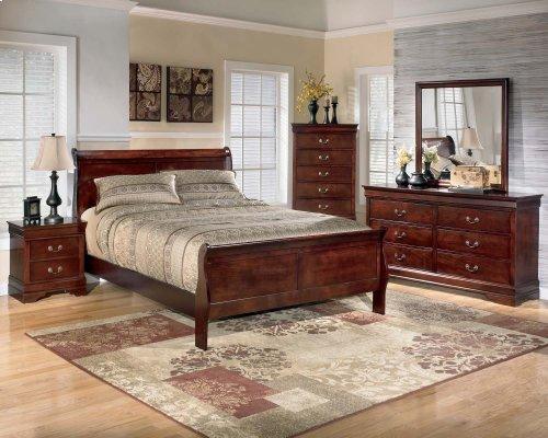Ashley 4-Piece Twin Sleigh Bed Set