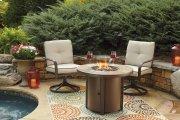 Predmore - Beige/Brown 2 Piece Patio Set Product Image