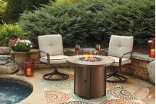 Predmore - Beige/Brown 2 Piece Patio Set