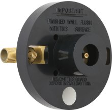 Pressure balancing tub and shower fitting with shower head and diverter tub spout options