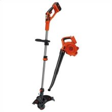 40V MAX* Lithium String Trimmer/Edger + Sweeper Combo Kit with Fast Charger