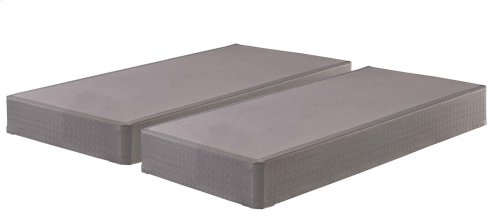 Foundation - Gray 2 Piece Mattress Set