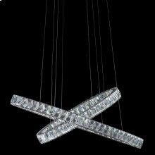 Crossover LED Chandelier