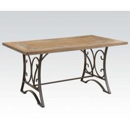 Dining Table W/slate Insert