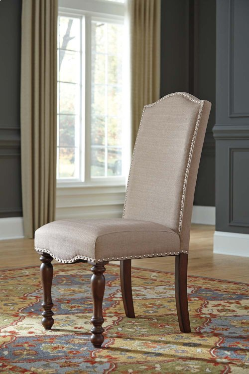 Baxenburg - Brown Set Of 2 Dining Room Chairs
