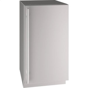"U-Line5 Class 18"" Refrigerator With Stainless Solid Finish and Field Reversible Door Swing (115 Volts / 60 Hz)"
