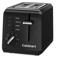 2 Slice Compact Plastic Toaster