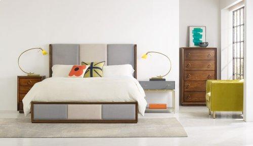 Bedroom Roman Four-Drawer Nightstand
