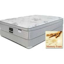 "Symbol Pedic - Ventura - 14"" Euro Box Top - Queen"