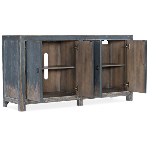 Home Entertainment Boheme Four Door Media Console