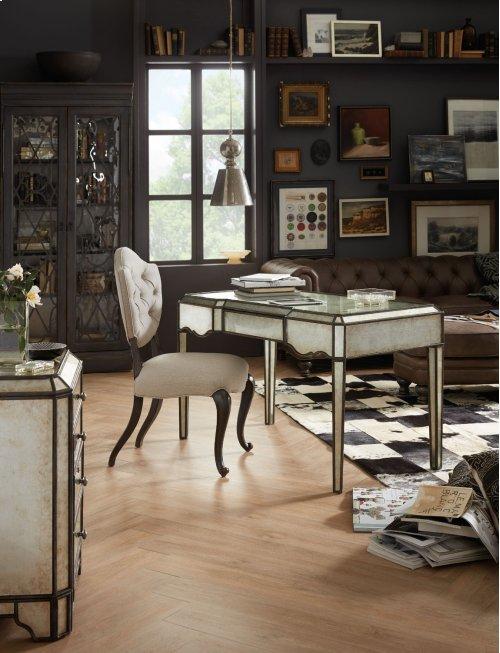 Home Office Arabella Mirrored Writing Desk