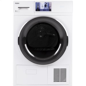 "Haier Appliance4.1 cu.ft. Capacity 24"" Ventless Condenser Frontload Electric Dryer with Stainless Steel Basket"