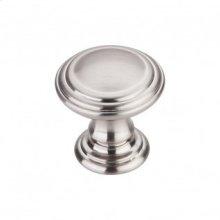 Reeded Knob 1 1/4 Inch - Brushed Satin Nickel