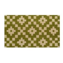 Doormat Mathis Green 18x30