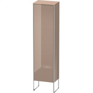Tall Cabinet Floorstanding, Cappuccino High Gloss Lacquer