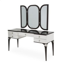 Vanity W/ Vanity Wall Mirror (2 Pc)