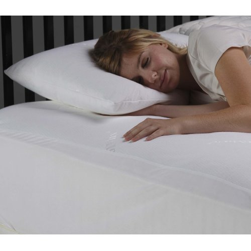 Sleep Chill Pillow Protector with Soft and Moisture Resistant CoolMax Fabric, King / California King