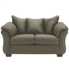 Signature Design by Ashley Darcy Loveseat in Sage Microfiber