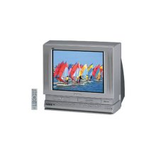"27"" Diagonal Triple Play™ TV/DVD/VCR Combination"